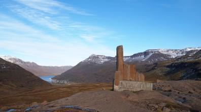 da unten liegt Seyðisfjörður