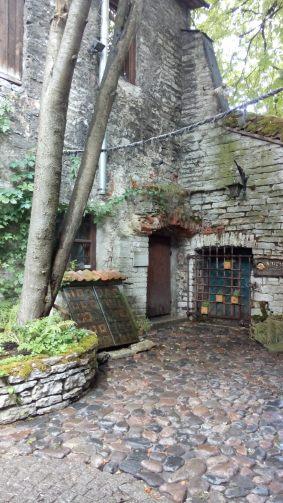 Ein Hinterhof in der Altstadt